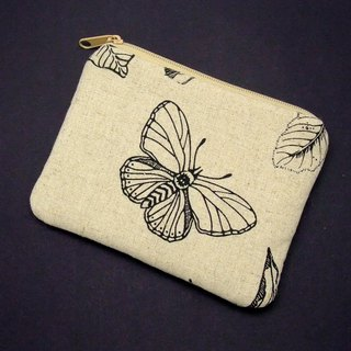 Zipper pouch / coin purse (padded) (ZS-168)