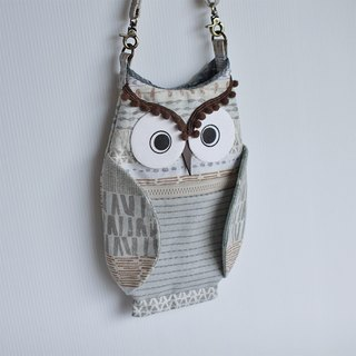 Owl oblique backpack No.2