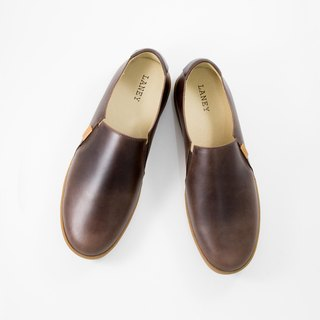 PLAYER Series / Slip-On Sneaker / Waxy Brown