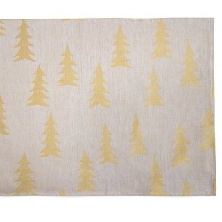 Nordic style designer – Fir table mat (Pink Yellow) Gran Place Mat, Yellow/Powder