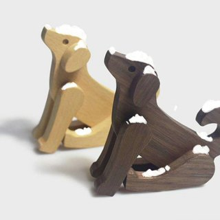 Senso senser - rich years - dog - Wang Choi - wooden doll