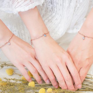 Girlfriends bracelet rose sea sapphire The One3 into the preferential group sister ceremony birthday ceremony bridesmaid