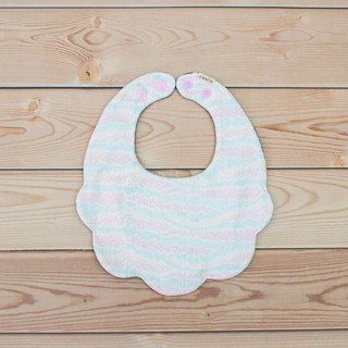 Sea flower petal pocket bib pocket towel eight layers of yarn