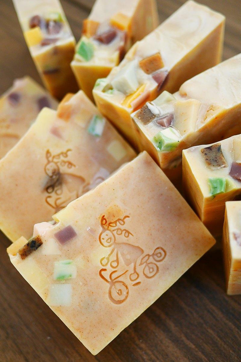 乳油木馬鞭草皂/乳油木 /不一樣的手工皂/ 洗顏皂/冷製皂