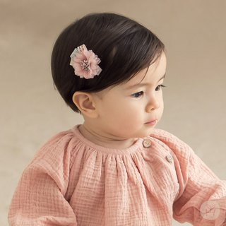 Happy Prince Flavin Baby Girl Flower Hair Clip Korean Made