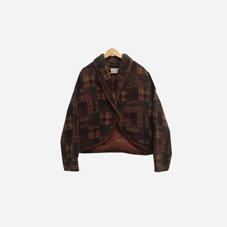 Dislocation vintage / Plaid coat no.233 vintage