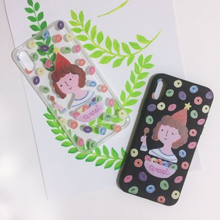 Breakfast fairy Little One illustration phone case