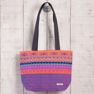BOHO printing canvas tote bag BAG198