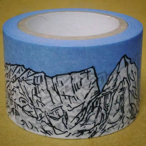 Earth Landscape album - Long landscape scrolls and tape 30 mm