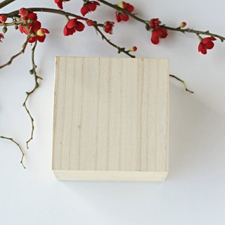 [There is a good food tea] Indus wood wooden box gift box customized area