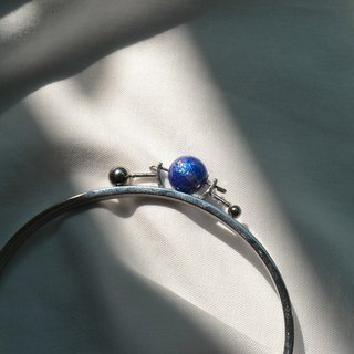 Purple planet Tri astral bangle
