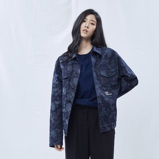 DYCTEAM -Camouflage Pattern Jacket (Blue)