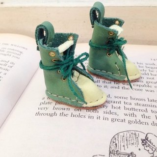 Handmade doll leather boots, small cloth, Lika Licca dolls can wear