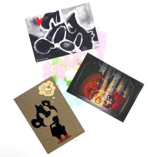 POST CARD SET-A