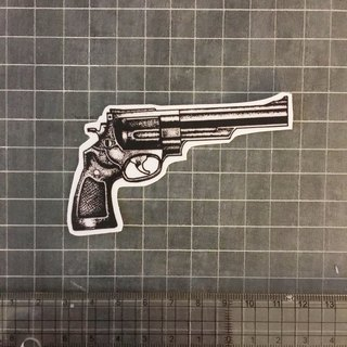 Pistol sticker