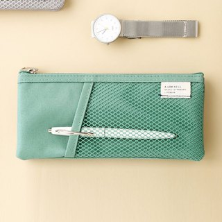 Livework casual wind double fold storage bag V2-Mint Green, LWK56290