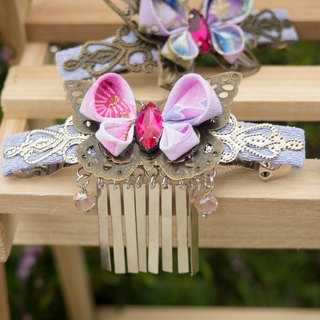 Exclusive original design x metal tassel butterfly long hair clip hair accessories spot