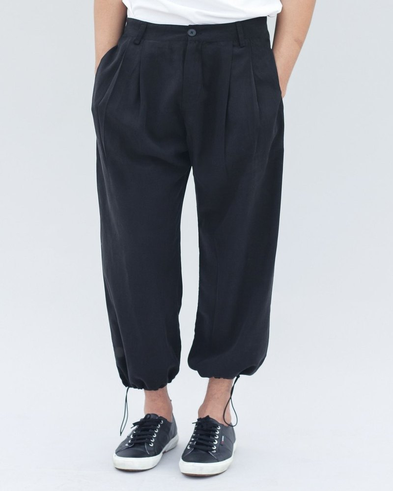 Tencel Drawstring Trouser