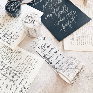 Washi Tape: Letters To Life.