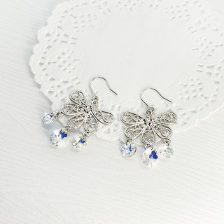 Butterfly Butterfly Earrings Swarovski