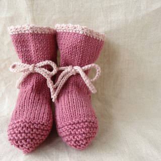 En'ami baby bootie wool × cotton 6M ~ 179