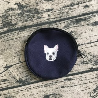| Staff Handmade | Hand-painted round coin purse