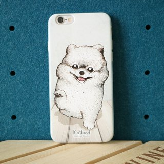 Home design - white squirrel dog Bomei dog case protective case Phone Case D14_B