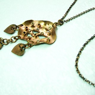 Copper Necklace - Shower (2)