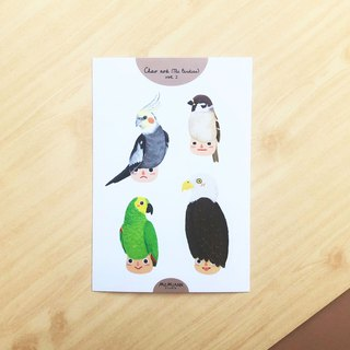 The Birdies Vol.2 | A6 waterproof sticker