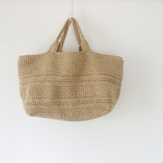 yuoworks / big tote bag / jute