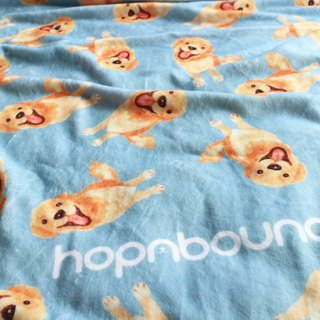 Golden Retriever Golden Retriever Blanket Puppy Air Conditioning Blanket Warm Blanket Warm Blanket Pet Blanket