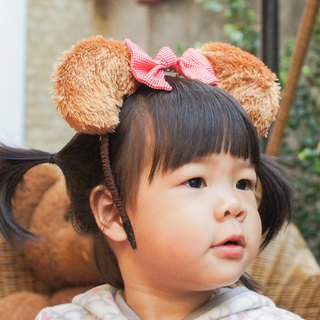 Bear Headband / adults and children are applicable / 6 color optional