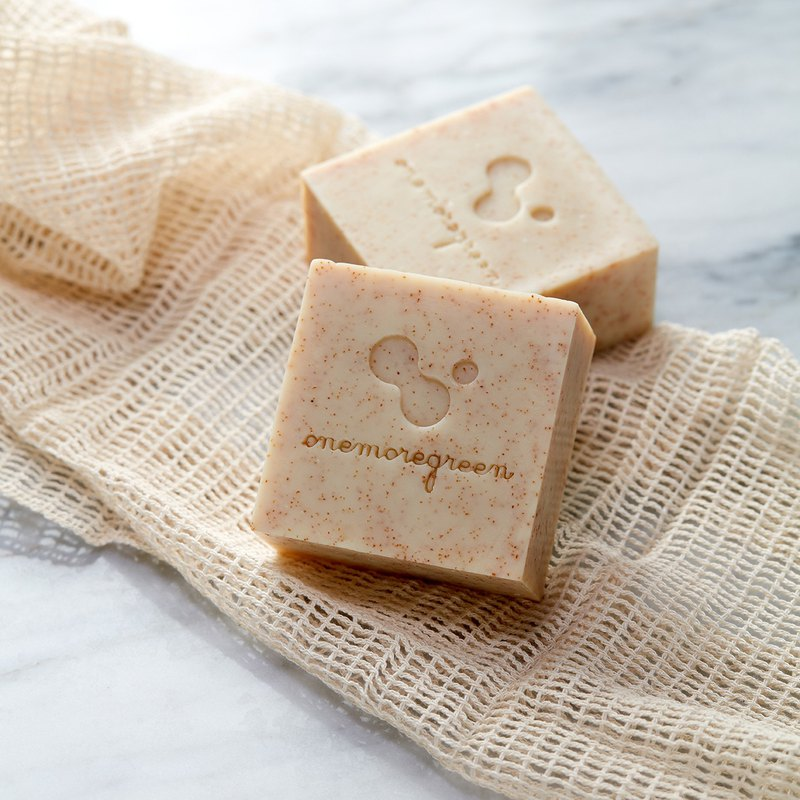 Apricot Walnut Kiss Apricot Exfoliating Soap │ Neutral Skin │ Bath Exfoliation