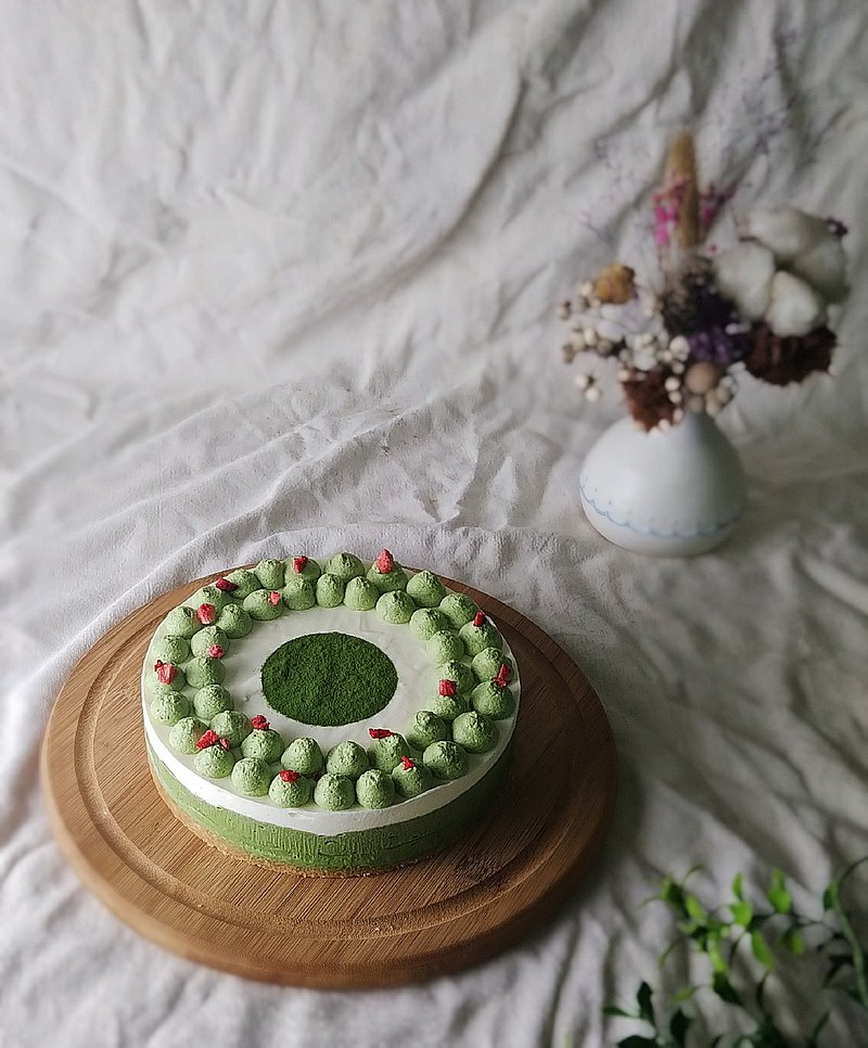 [Mother's Day Cake] Matcha-controlled Koyama Garden Matcha Raw Milk Mousse 6 inches