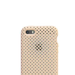 AndMesh i7/8Plus Japan QQ Network Soft Impact Protection Cover - Ivory (4571384958479)