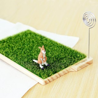 【OSHI】GRASS  WOODEN TRAY