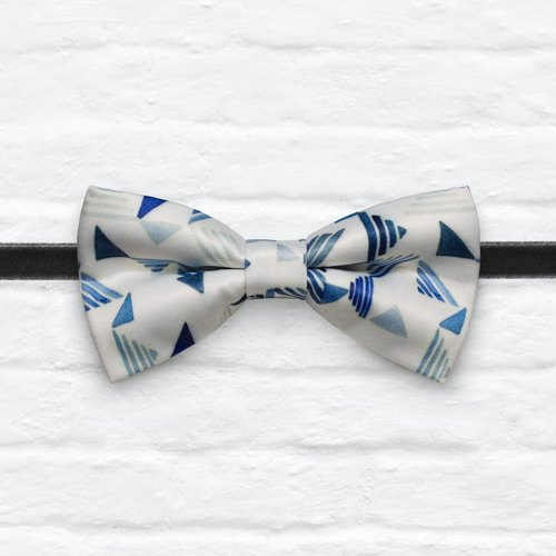 Style 0059 Bowtie - Modern Boys Bowtie, Toddler Bowtie Toddler Bow tie, Groomsmen bow tie, Pre Tied and Adjustable Novioshk