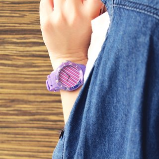 【PICONO】Color Fun Sport Watch - Purple / BA-CF-02