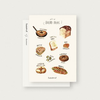 Bread Ideas A6 Postcard