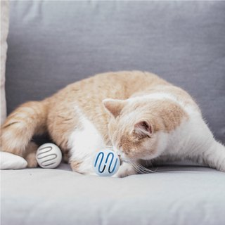 Pidan cat toy ball blue mint ball