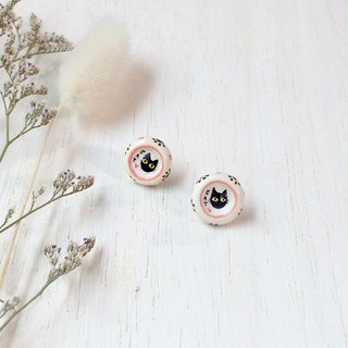 Cat bowls Earrings, Cat Stud Earrings, cat lover gifts