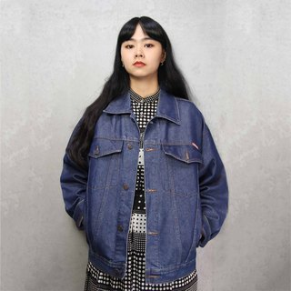 Tsubasa.Y Ancient House A13 vintage denim jacket, denim denim jacket for men and women can wear