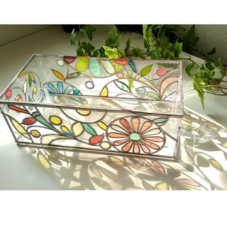 Order GlassArt made Tissue Paper Case Four Seasons Banquet