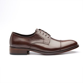 Kings Collection รองเท้า Norbert Cap Toe Derby KV80075 สีน้ำตาล