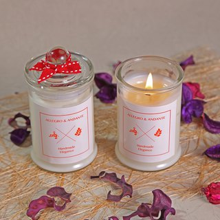Handmade soy scented candle 120g home decorations gifts birthday gift for mother's day gift