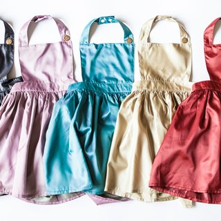 [my little princess] staff hand-made low-key extra-red children aprons skirt _ Japan lightweight waterproof cloth