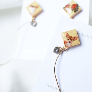 Forest Series - Xiaolingjiao Copper Earrings / Ear Clips