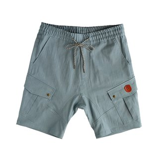 Multi-pocket military shorts