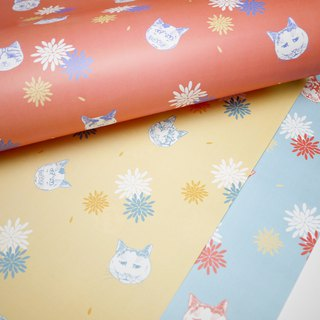 Cute Cat wrapping paper 3 in