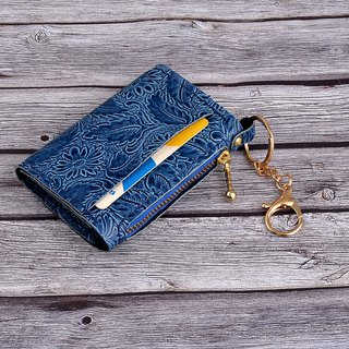 U6.JP6 handmade leather goods - hand made leather sewing imported leather - universal bag / coin purse (for men and women)
